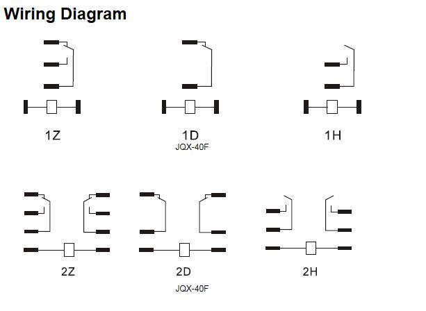 Power relay JQX-40 50A wiring diagram.jpg